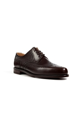 Ludwig Reiter Leather Brogues In Mocca