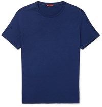 Barena Cotton Jersey T Shirt Blue