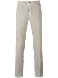 Incotex Slim Fit Trousers Nude Neutrals