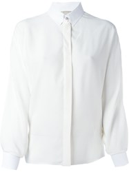 Lanvin Wide Sleeve Shirt White