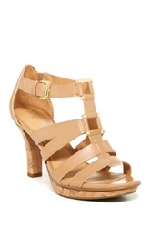 Naturalizer Dafny High Heel Sandal Wide Width Available Brown