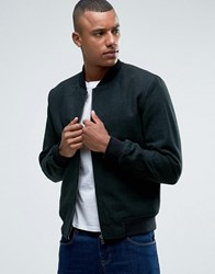 Only And Sons Wool Bomber Jacket Green