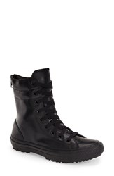 Women's Converse Chuck Taylor All Star Hi Rise Water Resistant Rubberized Boot Black