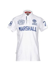Franklin And Marshall Topwear Polo Shirts Men White
