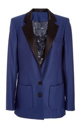 Racil Phoenix Midnight Wool Jacket Blue