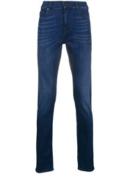 7 For All Mankind Luxe Performance Jeans Blue