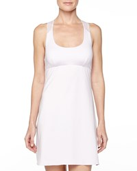 Cosabella Trenta Lace Back Short Slip Dress Petal