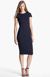Petite Women's Felicity And Coco Seamed Pencil Dress Navy