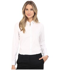 The Kooples Shirt In Stretch Poplin White Women's Clothing