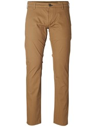 Selected Homme Three Paris Stretch Chinos Camel