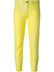 Ann Demeulemeester 'Midas' Trousers Yellow And Orange