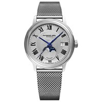 Raymond Weil 2239M St 00659 'S Maestro Automatic Moonphase Date Mesh Bracelet Strap Watch Silver