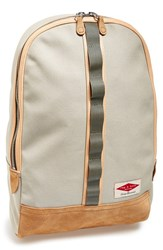 Rag And Bone Men's Rag And Bone 'Derby' Canvas Backpack White Aluminum White