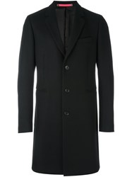 Paul Smith Ps By Classic Single Breasted Coat Black