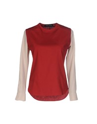 Andrea Incontri Blouses Brick Red