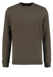 Burton Menswear London Sweatshirt Green Khaki