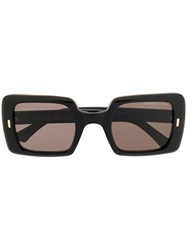Cutler And Gross Square Frame Sunglasses Black