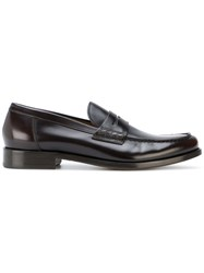 Doucal's Classic Loafers Brown