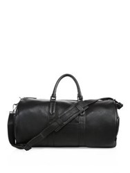 Uri Minkoff New Leather Duffle Bag Black