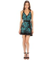 Proenza Schouler Peacock Belted Sundress Cover Up Turquoise