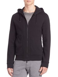 Belstaff Harwick Zip Up Sweater Black