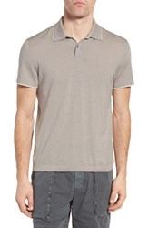 James Perse Men's Fine Gauge Tipped Polo