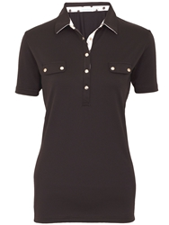 Green Lamb Catherine Shirt With Faux Pockets Black