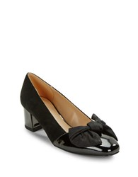 Imnyc Isaac Mizrahi Julia Cap Toe Pumps Black