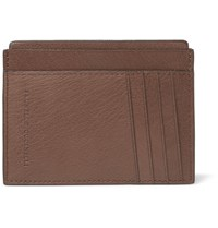 Brunello Cucinelli Leather Cardholder Brown