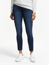 Dl1961 Florence Mid Rise Cropped Skinny Jeans Salt Creek
