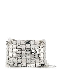 Paco Rabanne Square Chainmail Shoulder Bag Silver