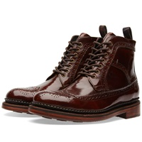 Barbour Billingham Derby Boot Cognac