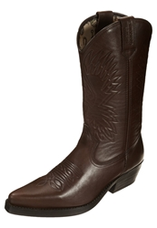 Kentucky's Western Cowboy Biker Boots Chocolate Brown