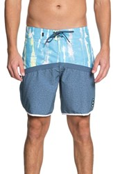 Quiksilver Highline Fortune Board Shorts Cyan Blue