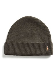 Polo Ralph Lauren Merino Wool Beanie Green