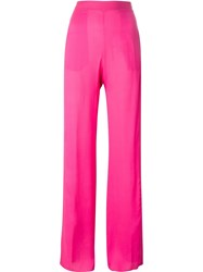 Dsquared2 High Waist Trousers Pink And Purple