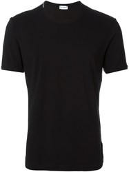 Dolce And Gabbana Underwear Round Neck T Shirt Black
