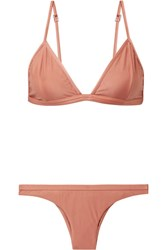 Haight Triangle Bikini Antique Rose