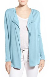 Women's Vince Camuto Drape Front Cardigan Star Blue
