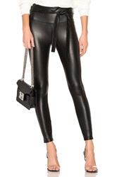 David Lerner Elliot Belted High Waisted Legging Black