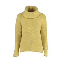 Lowie Chunky Roll Neck Jumper Yellow