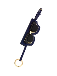 Marni Sunglasses Leather Key Ring