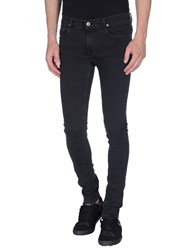 April 77 Denim Denim Trousers Men Steel Grey