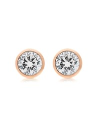 Michael Kors Brilliance Metal And Crystal Stud Earrings