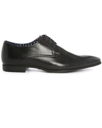 Billtornade Marvin Black Smooth Leather Brogues