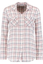 Splendid Checked Woven Shirt Pink