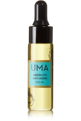 Uma Oils Absolute Anti Aging Eye Oil Colorless