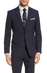 Theory Men's Wellar New Tailor 1 Trim Fit Stretch Wool Sport Coat Navy