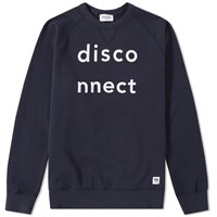 Wood Wood Disco Hester Sweat Blue