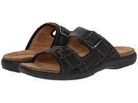 Clarks Un.Bryman Part Black Leather Men's Sandals